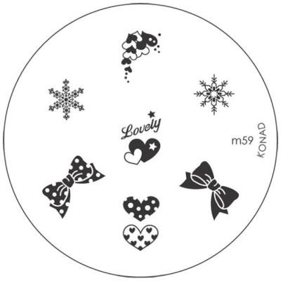 Konad Stamping Image Plate M59