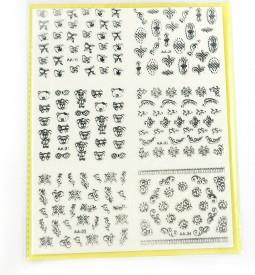 SAVNI big pack of nail art stickers t21