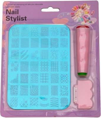 Lifestyle-You Nail Stamping Kit Image Plate XY14