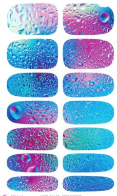 Cheryl Cosmetics Blue Ocean Nail Art Sticker