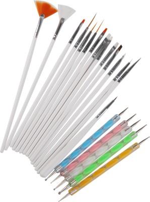 Magideal Nail Art Painting Brush Nail Dotting Drawing Polish Pen