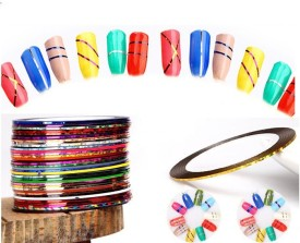 Jayhari 32 Colors 1mm Nail Striping Tape Line For Nails Decorations