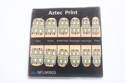 NFLM Designer Nailwear Aztec Print