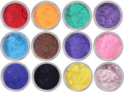 Jayhari 12 Color Flocking Velvet Powder