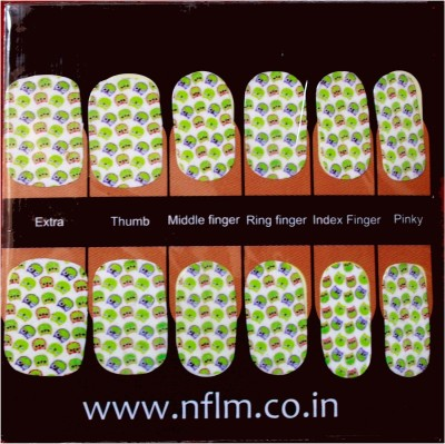 NFLM Designer Nailwear Hoot Print