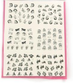 SPM big pack nail art stickers 37(pink)