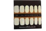 NFLM Designer Nailwear Polka dots (White...