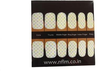 NFLM Designer Nailwear Polka dots