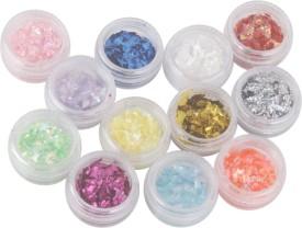 Magideal Rhombus Shape Manicure Nail Glitters