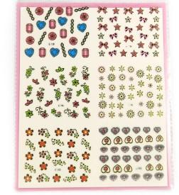SAVNI big pack of nail art stickers t50