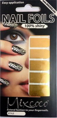 Beautycura Gold Color Nail Foil for Design work