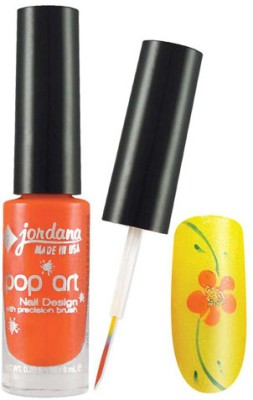 Jordana Pop Art Design with Precision Brush