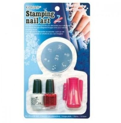 Konad Stamping Nail Art Set - D