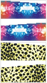 Jenna Manicure Water Transfer Nail Art Decals Stickers- Sapphire Series NR-255(Multicolor)