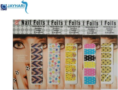 Jayhari Premium Quality Sticker Nail Foil