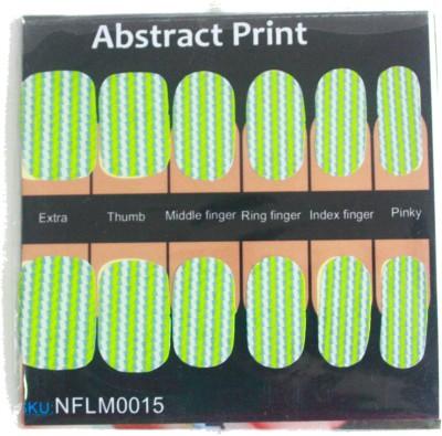 NFLM Designer Nailwear Abstract Print