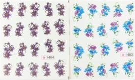 Iris7 Manicure Water Transfer Nail Art Decals Stickers(NIL)