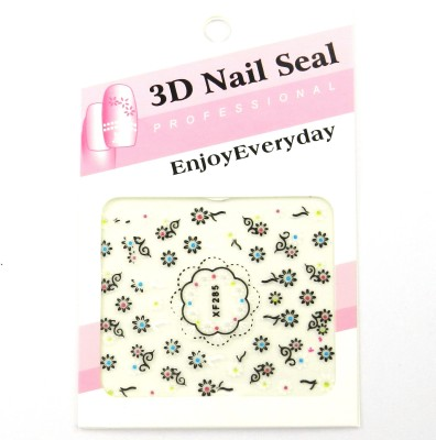 SPM Do It Yourself Nail Art Pasting Stickers 3d