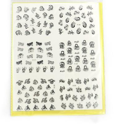 SPM big pack nail art stickers 04