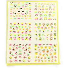 SAVNI big pack of nail art stickers t45