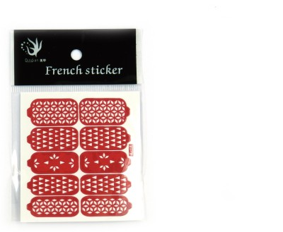 SAVNI nail art stencil for nails 2