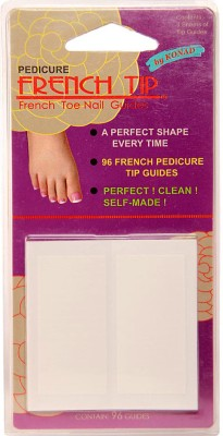 Konad French Pedicure Tip Guide