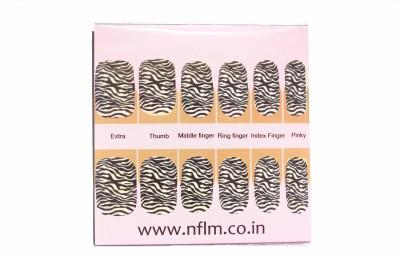 NFLM Designer Nailwear Zebrilla