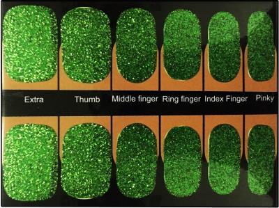 NFLM nail art sticker Olive Shimmer
