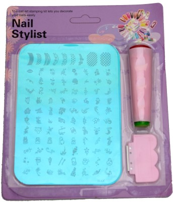 Lifestyle-You Nail Stamping Kit Image Plate XY10