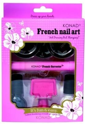 Konad Stamping Nail Art Kit - French Tip Set