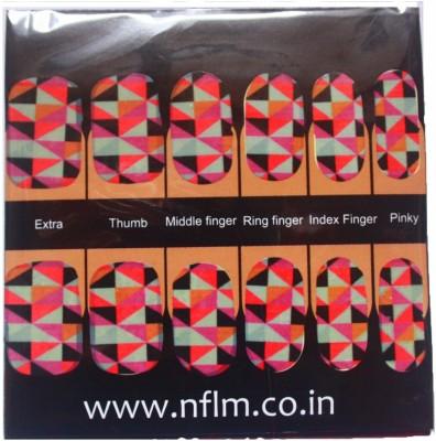 NFLM Designer Nailwear Geo-metriK Art