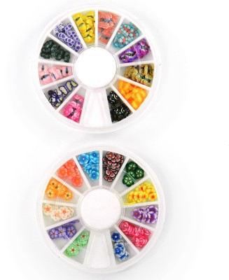 SPM Combo Of Nail Art Butterfly Pastings Kit