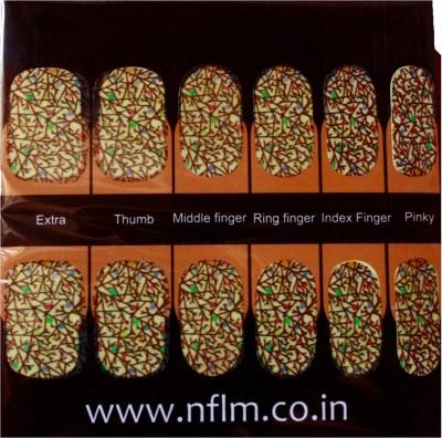 NFLM Designer Nailwear Crows Toes