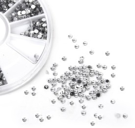 Magideal Clear Crystal Tips Nail Art