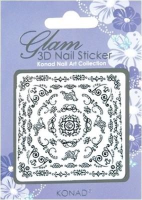 Konad Glam 3D Nail Art Sticker