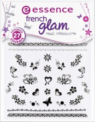 Essence French Glam Nail Stickers Nothing But French 03-42095