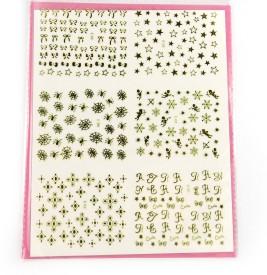 SAVNI big pack of nail art stickers t32