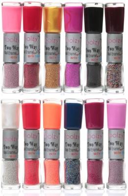 Foolzy Set of 24 Shades Twoway Nail Art Polish