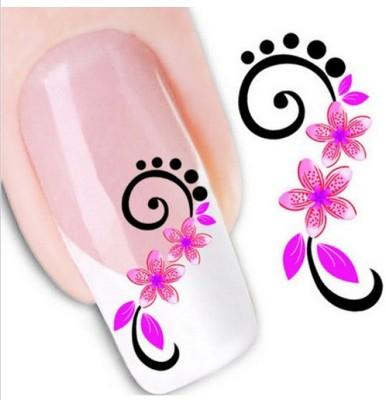 Rose Nail Art Sticker