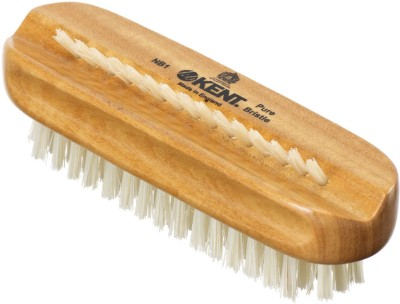 Kent NB1 Pure Satinwood & Pure Bristle Nail Brush 113mm