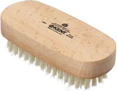 Kent NB4 Pure Beechwood & Pure Bristle Nail Brush 99mm