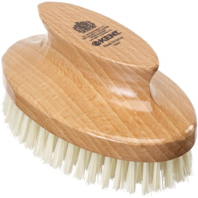 Kent NB6 Pure Beechwood & Pure Bristle Oval Nail Brush