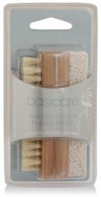 Basicare Nail Brush with Pumice Stone,2131