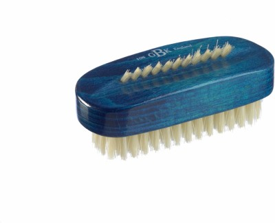 Kent ART8 Pure Beechwood & Pure Bristle Blue Nail Brush 98mm