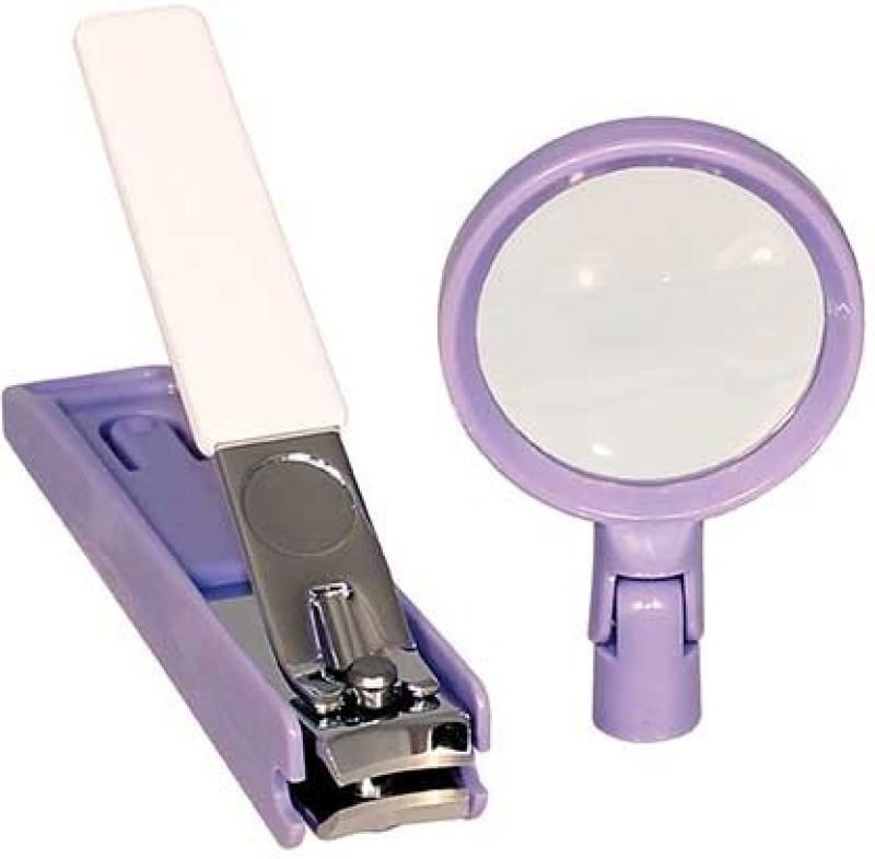 Rimei Nail Clipper With Magnifying Glass