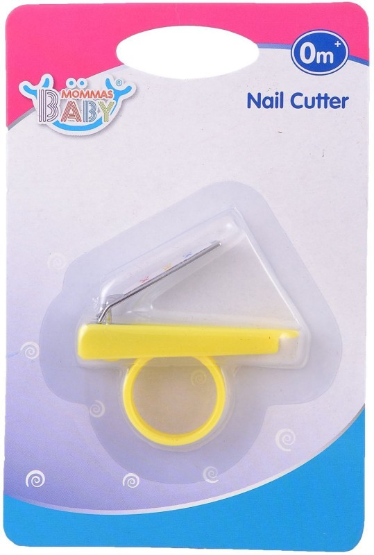 Mommas Baby India Nail Cutter-Yellow