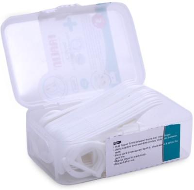 Farlin Farlin Dental Floss Pick - Na(6 cm, Pack of 50)