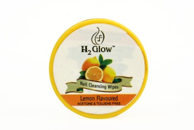H2 Glow Nail Paint Remover Pads