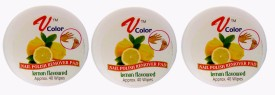 V-Color Nail Polish Remover Pads (Lemon-3)