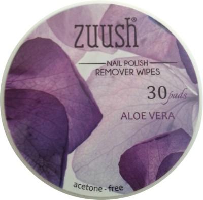 Zuush Nail Polish Remover wipes 30s x 1